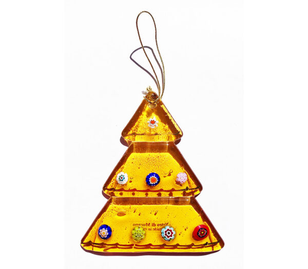 Christmas tree – hanging ornament – topaz