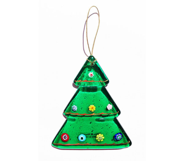 Christmas tree – hanging ornament – green