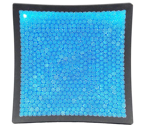 Piatto quadrato blu 185x185