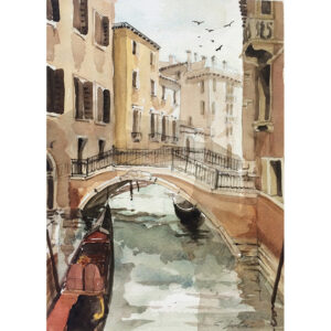 Watercolour - Canale Guerra