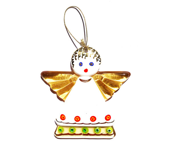 Angel – hanging ornament – white