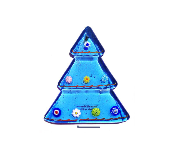 Christmas tree – table ornament – aquamarine