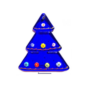 Christmas tree – table ornament – blue