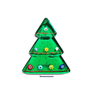 Christmas tree table ornament - green