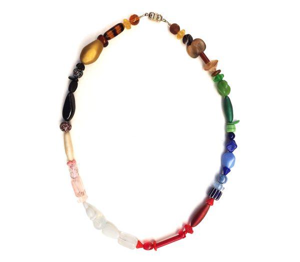 Collana multicolori