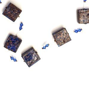 Collana Venturina 5 perle