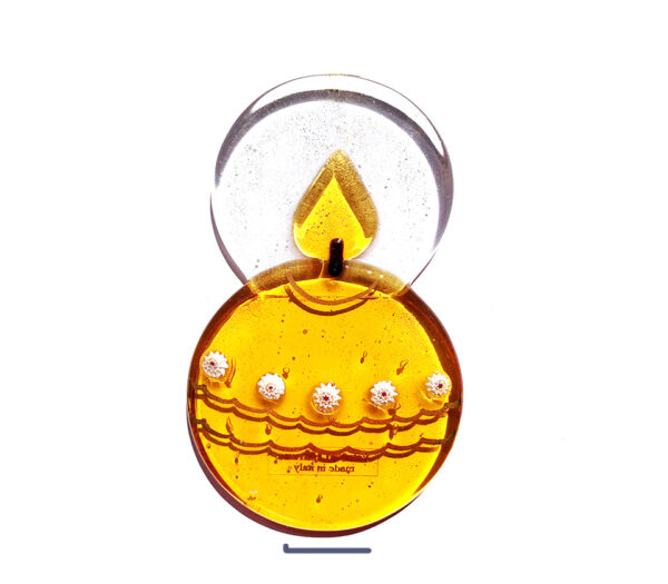 candle-freestanding-ornament-in-murano-glass-gold