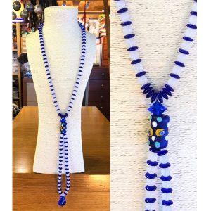 Collana vecchie perle con perla Moretti 01