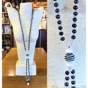 Collana vecchie perle con perla Moretti 02